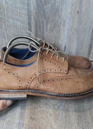 Кожаные туфли next 40/26см