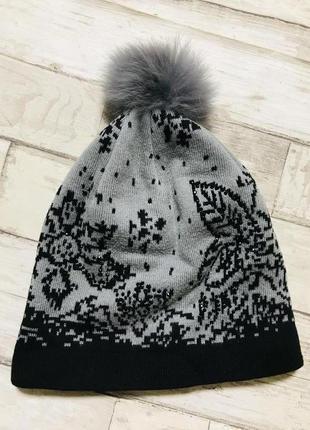 Модная шапка зимняя женская