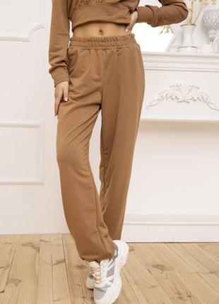 Штаны женские трубы, s-m-l, 119r352, спортивные брюки