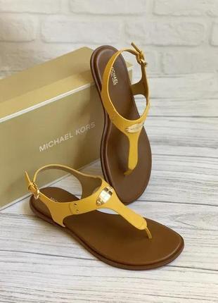 Босоножки сандалии michael kors кожа