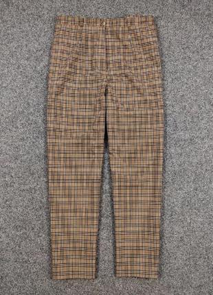 Шикарные классические клетчатые брюки штаны burberry