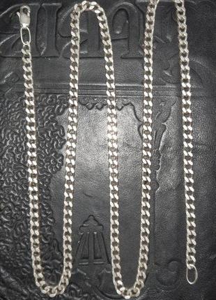Серебряная цепь цепочка