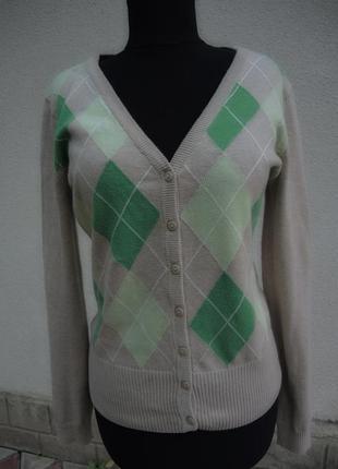 Отличный котоновый свитерок-джемпер