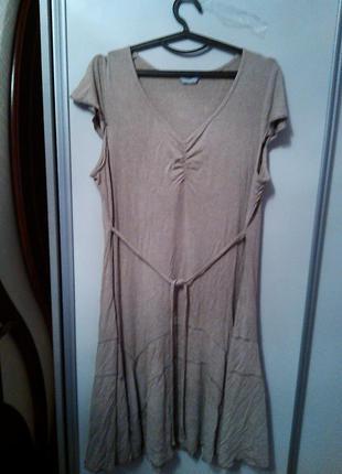 Вискозное платье, размер 52-54