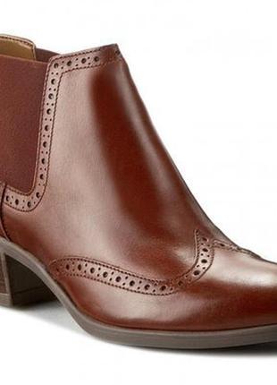 Ботинки челси clarks оригинал. натуральная кожа. 35-42