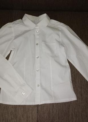 Школьная рубашка для девочки от tu