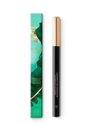 Водостойкая подводка unexpected paradise waterproof eye marker kiko milano 04