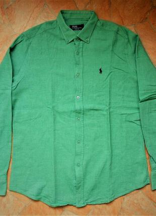 Рубашка polo ralph lauren размер м (48-50) оригинал