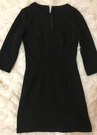 Чёрное платьице