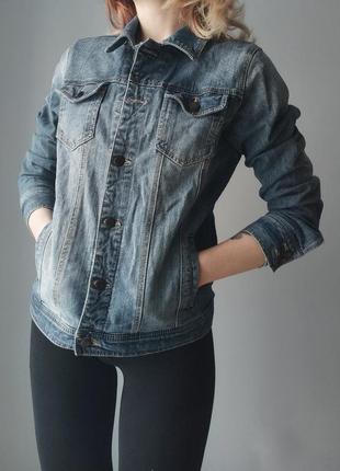 Vintage джинсовая куртка