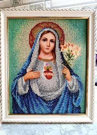 Икона марии и её непорочного сердца