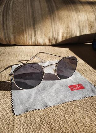 Солнцезащитные очки round (ray ban) круглые