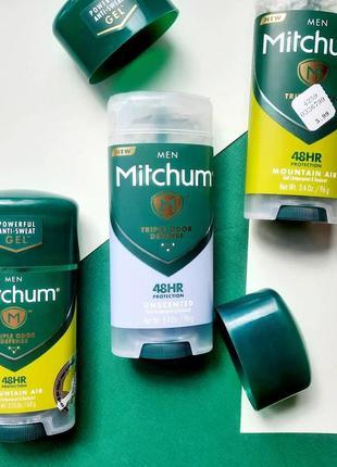 Гелевий дезодорант антиперспирант mitchum men
