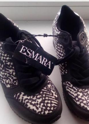 Брендові кросівки жіночі esmara 37 [німеччина] 24,2 см (кроссовки женские)