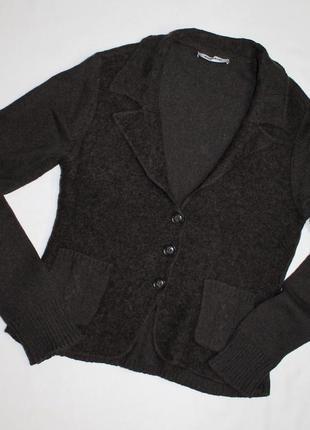 More & more пиджак из шерстяного трикотажа с интересным дизайном d42 / f44 /i 45 / gb 16