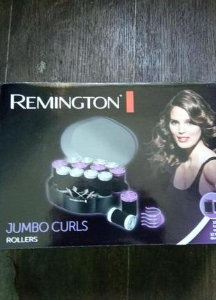 Термобигуди remington jumbo curls h0747