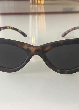 Солнцезащитные очки кошечка цвет черепаха, леопард, британия