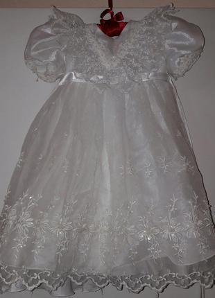 Платье для маленькой принцессы идеально для новогодних праздников