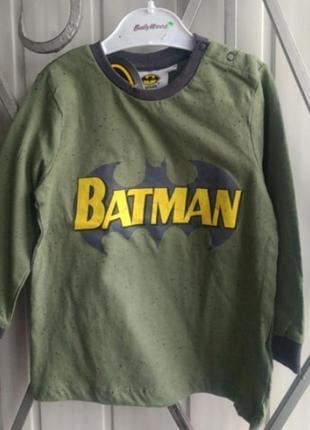 Кофта на мальчика batman pepco 92, 98 размеры