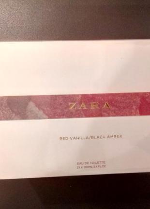 ... Набор парфюмерии zara red vanilla + black amber2