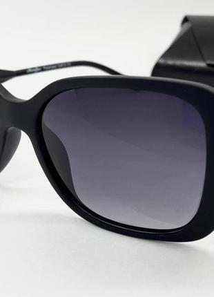 Atmosfera очки женские солнцезащитные черные прямоугольники с поляризованой линзой