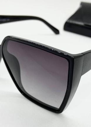Atmosfera очки женские солнцезащитные  черная геометрия с поляризацией