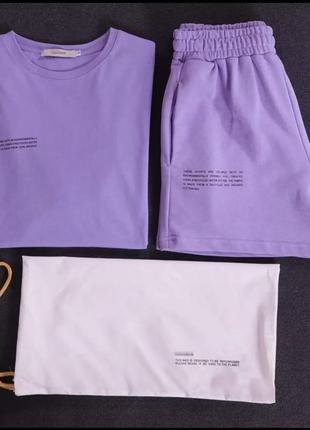 Костюм (шорты+футболка)