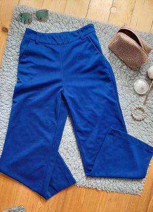 Сині штани палаццо