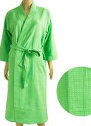 Вафельный халат тм ярослав 44- 62 размер