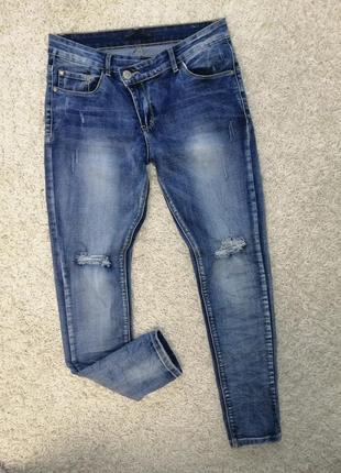 Новые женские рваные джинсы blue rags 38. нюанс