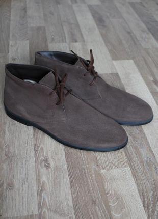 Оригінальні туфлі дезерти tod's оригинал туфли кожа италия 43/44