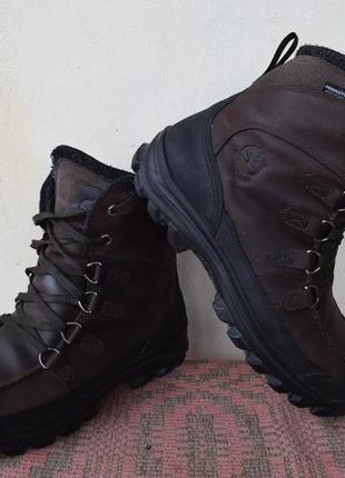 Ботинки зимние термо timberland chillberg premium waterproof men's boots