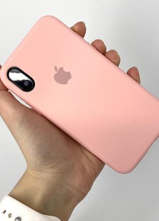 Чехол silicone case на айфон для iphone x xs 10 10s х хс