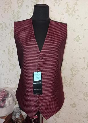 Нарядная жилетка taylor & wright dinner suit