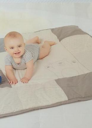 Коврик-одеяло для детских игр lupilu 115*115см