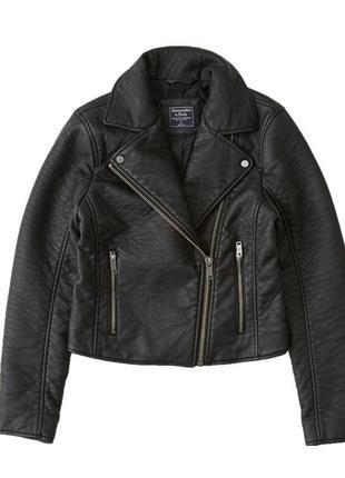 Косуха/куртка в байкерском стиле abercrombie & fitch