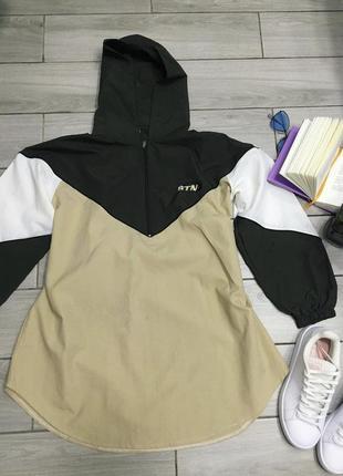 Куртка ветровка спортивная