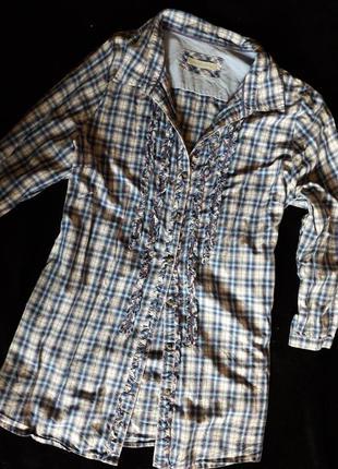 Рубашка в клетку  christian berg