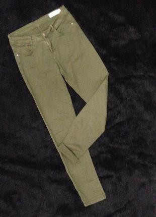 Крутые джинсы скинни от zara