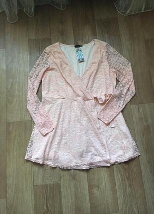 Батал большой размер новое нарядное нежное весенее платье платьице плаття сукня