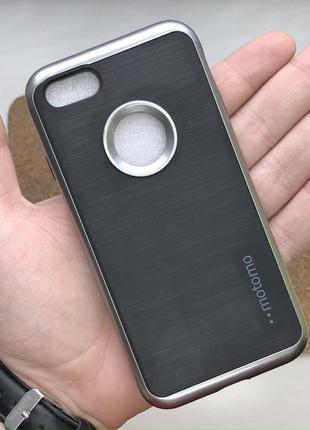 Чехол черный чохол на для айфон iphone 7 / 8 силиконовый белый