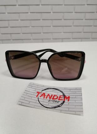 Женские солнцезащитные очки ch с камнями