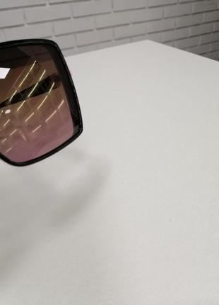 Женские солнцезащитные очки ch с камнями5 фото