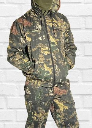 Камуфляжный костюм «дубовый листок» с капюшоном