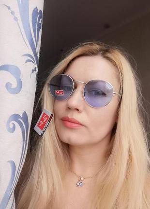 Стильные круглые солнцезащитные женские очки