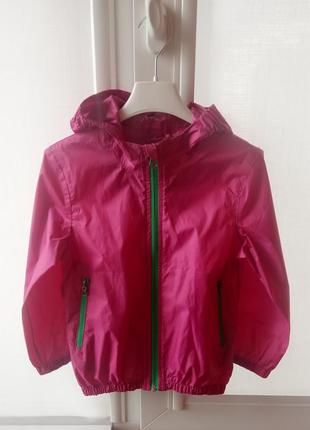 Куртка дощовик для дівчинки