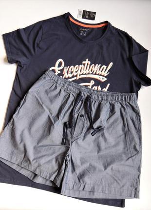 Комплект livergy для дома и отдыха,шорты и футболка
