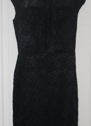 Черное платье sassofono