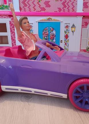 Машинка для кукол, распродажа,  кабриолет,  машина для барби
