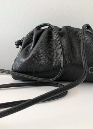 Кожаная кросс-боди 29590 италия borse in pelle черная